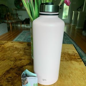 Giant NEW 84oz insulated metal cooler pink!
